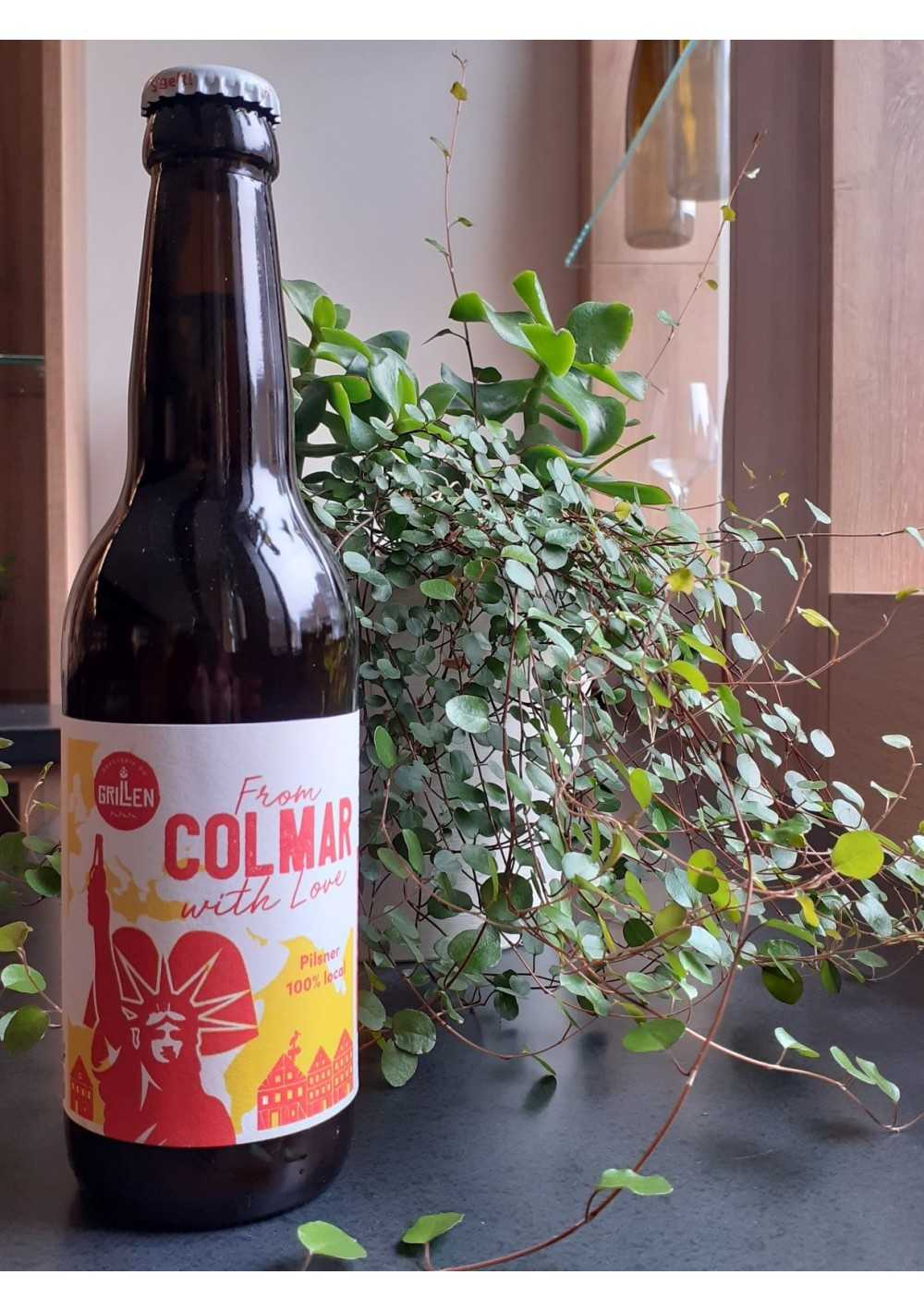 "Bière Pilsner ""from Colmar with love"" - 33cl - 5% vol.  - 1"